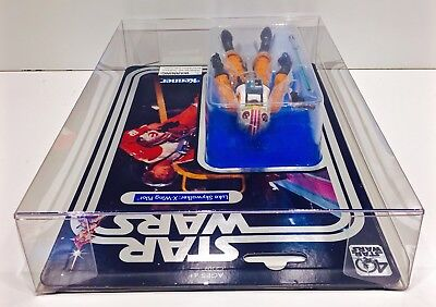 1 Clear Protector For CELEBRATION LUKE X-WING STAR WARS 40TH Display Case Box 5