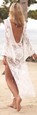 Vestito Lungo Copricostume Mare Donna Woman Dress Beach Cover Up COV0055