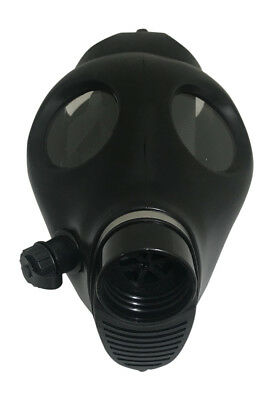 Israeli Respirator Gas Mask w/Genuine Military Sealed 40mm NATO Filter NBC - NEW