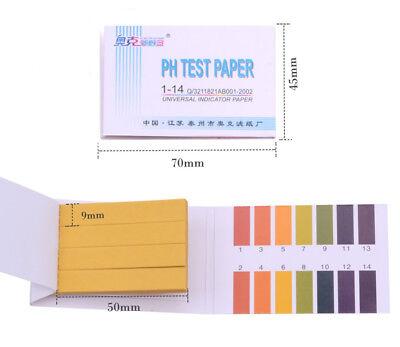 160x Test / Tiras reactivas Ph para medir de 1 a 14 pH *Universal Baja Precisión