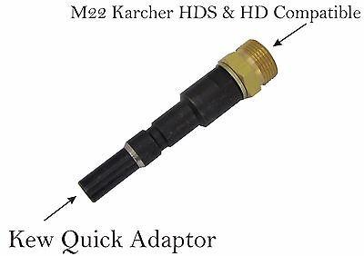 Limpiadora de alta presión m22m cierre rápido HP Snap Acople Para KEW & Nilfisk