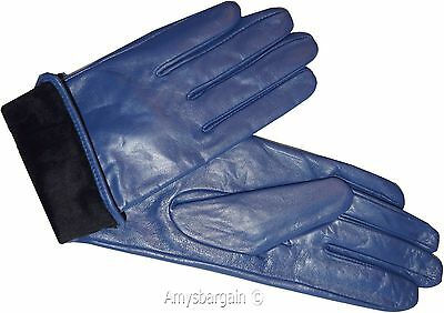 Leather gloves. Size S, M, L, XL. Woman's Leather  winter Gloves. Dress Gloves. 7