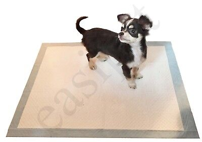 150 Large Puppy Pads Dog Pet Toilet House Training 60x45cm Wee Potty Pee Mat Cat