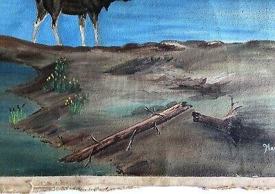 Marcel Fournier Painting Original Antique RARE Appraised $4000 + 4