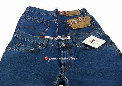 Pantalone 5 tasche cotone denim Carrera 700 jeans uomo Regular Fit Straight Legs 4