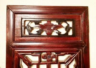 Antique Chinese Screen Panels (2968)(Pair), Cunninghamia Wood, Circa 1800-1849 11