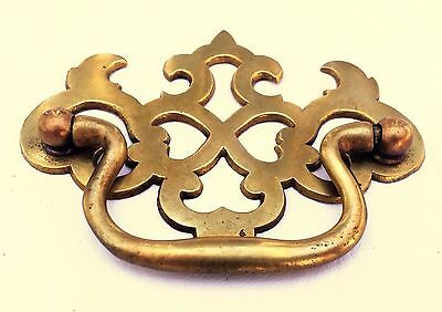 """Antique Hardware Brass Chippendale Drawer Pull Handle...  2 1/2"""" & 3"""" centers 2"""