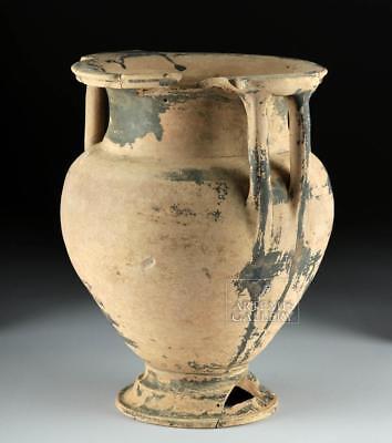 Greek Attic Blackware Column-Krater Lot 14C