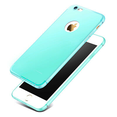Coque Antichoc Silicone Protection Pour Iphone 6 7 8 Plus Se 5S Xr X Xs Max 6