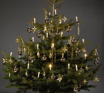 Lichterkette Weihnachtsbaum.Weihnachtskerzen Led Lichterkette Tannenbaum Beleuchtung Weihnachten