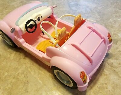 2006 Mattel Barbie Beach Glam Cruiser Pink Convertible Sports Car 2