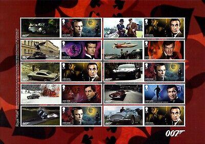 James Bond 2020 Mint Presentation Pack 583 Stamps Sheet Prestige & Retail Books 4