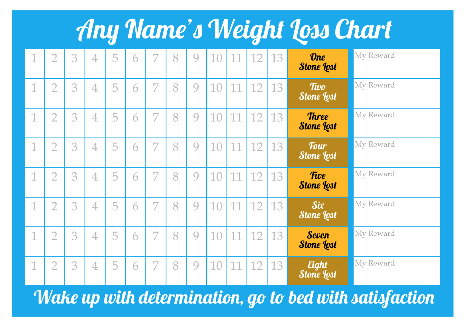 Personalised weight loss chart 8 stone laminated with 2 x 1 of 5free shipping personalised weight loss chart 8 stone laminated with 2 x sheet of stickers nvjuhfo Gallery