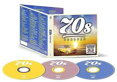 60 Greatest Hits of the SEVENTIES  *  New 3-CD Boxset  * All Original 70's Hits 2