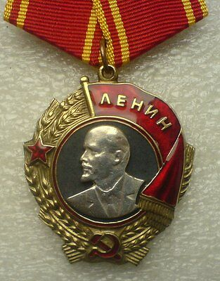 USSR Soviet Russian Collection Order of Lenin screw 1936-1943 COPY