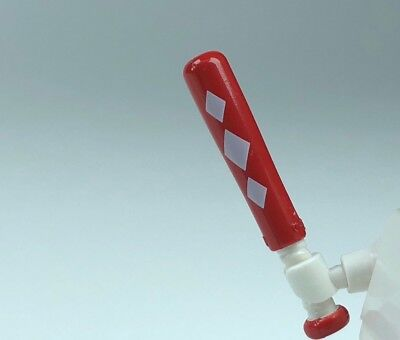one red /& one white Lego NEW minifig accessory A-3 utensil game console