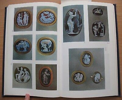 Russian Book Antique Cameo Art Old Miniature Portrait Stone Vintage Antique VTG 5