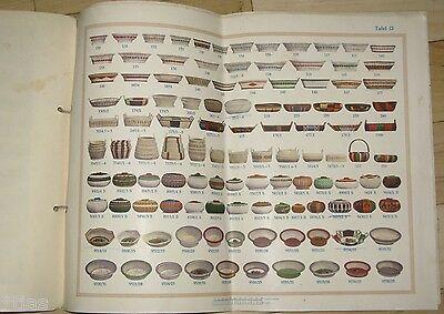Carl Zeidler Korbwaren-Industrie Sonnefeld Katalog Musterbuch um 1935 Körbe 4