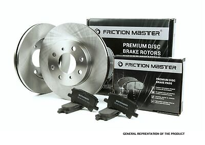 Front Brake Rotors and Ceramic Pads fits 2007 - 2015 CAMRY 2