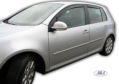 SET 4 DEFLETTORI ARIA  ANTITURBO per VW GOLF V  5 PORTE 2004 - 2008 3