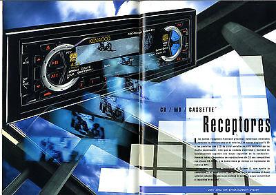 Kenwood - Car Intertainment System 2001-2002   Español   Original Catalog 2