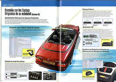 Kenwood - Car Intertainment System 2001-2002   Español   Original Catalog 3