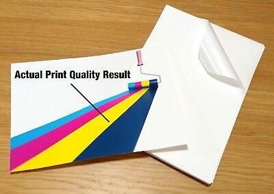 Laser Printable Vinyl Sheets Sign Making A4 Clear Matte Sheet HQ Triple Pack