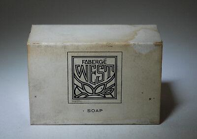 Faberge West Soap 120 Gr Vintage 3