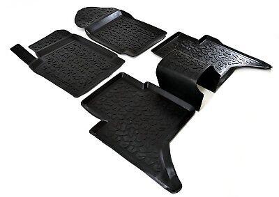SCOUTT 3D PREMIUM TAPIS DE SOL EN CAOUTCHOUC pour FORD RANGER T6 T7 2012-prés 3