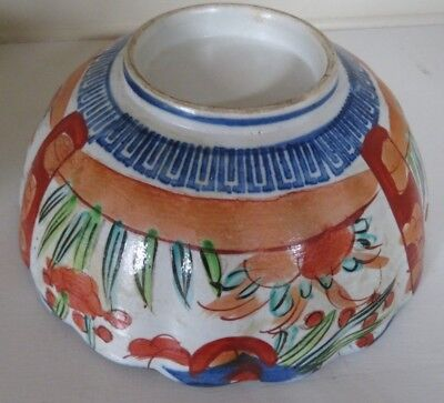 Anique Imari Bowl Made In Mid 19Th Century In China For Export To Japan 2