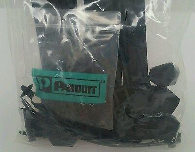 "Panduit 6/"" 40lb Black UV Weather Resistant Dome-Top Barb Ty Cable Ties 100//bag P"