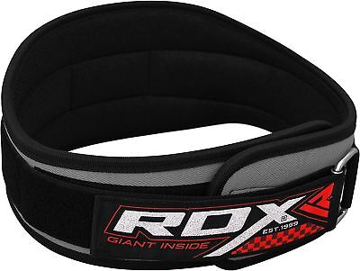 RDX BodyBuilding Weight Lifting Fitness Gym Neoprene Wide Double Back Support AU