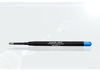 10 St Kugelschreiber Minen, Großraumminen, Großraummine Parker-System - blau 2