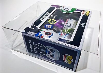 2 Box Protectors for various FUNKO POP! 2 PACKS.  PLEASE READ DESCRIPTION! cases 2