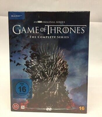 Game of Thrones Staffel 1-8 Blu-ray Box Die komplette Serie Staffel 1 bis 8 NEU 2