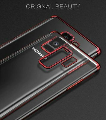 Luxury Ultra Slim Shockproof Silicone Clear Case Cover For Samsung Galaxy S8 S9 2