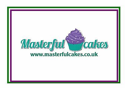 Your Own Personalised A4 Photo Edible Icing Cake Topper 3