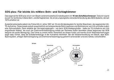 SDS PLUS Hammerbohrer Betonbohrer Steinbohrer Quadro - X Kreuzschneide 4 - 25 mm 11