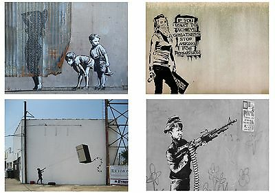 Banksy Graffiti Street Art Pack 12 Posters Collection / Set 12 Prints Hp4139 2