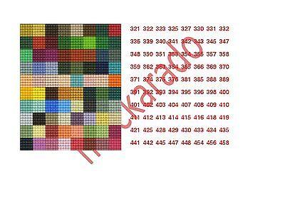 Mini-Pixelhobby Schlüsselanhänger transparent / Medaillon mit Metallkette