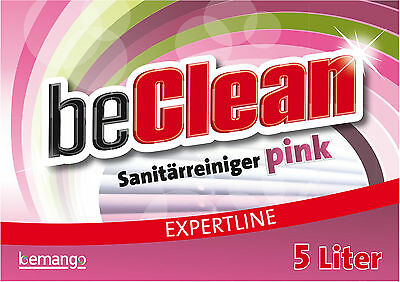 Sanitärreiniger Pink 5 Liter im  Kanister für Bad und WC 2