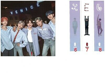 AB6IX 6IXENSE Authentic PHOTO CARD BOOKMARK ENVELOPE PHOTOCARD kpop KOR SELLER 7
