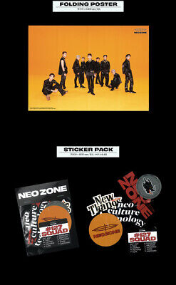 NCT 127 NEO ZONE 2nd Album T Ver CD+Photo Book+3Card+7Sticker+Poster+GIFT SEALED 10