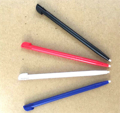 4pcs Stylus For Nintendo 2DS Slot in Touch Pen Set Red Blue White & Black WF 2