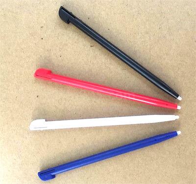 4pcs Stylus For Nintendo 2DS Slot in Touch Pen Set Red Blue White & Black WF