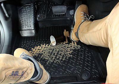 3D EXCLUSIVE TAPIS DE SOL EN CAOUTCHOUC pour BMW X3  E83  2004-2010  4pcs 5