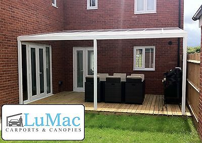 WATERPROOF PATIO CANOPY garden cover shelter Lean to ...