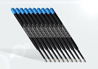 10 St Kugelschreiber Minen, Großraumminen, Großraummine Parker-System - blau 3