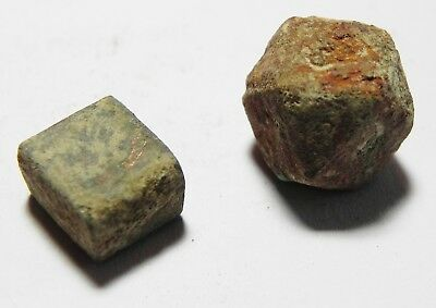 Zurqieh - As3621-  Islamic Lot Of 2 Bronze Weights. Early-Mamluk 2
