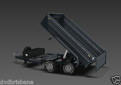 Trailer Plans - 3400kg HYDRAULIC TIPPING TRAILER PLANS - 10x6ft- PLANS ON CD-ROM 5